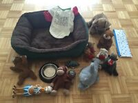 Miscellaneous small dog items