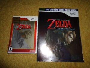Twilight Princess with Guide - $25 - Can deliver