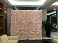 Premium Flower / Floral Walls and Backdrops for Rent