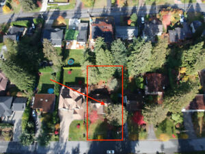 North Vancouver oversized Lot 65'x144' 9,372 sqft