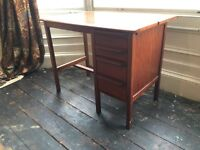 Lovely Vintage Compact Office Desk CAN DELIVER