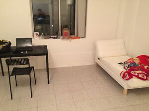 Lease transfer 6 months or more 1.5 studio Downtown/Plateau