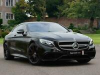 2017 Mercedes-Benz S CLASS AMG COUPE S63 2dr Auto Coupe Petrol Automatic