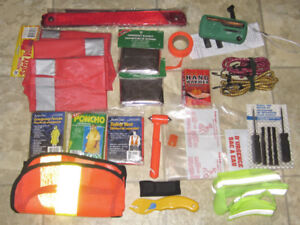 Lot of misc. car safety items