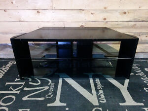 Flat Screen TV Stand with Glass