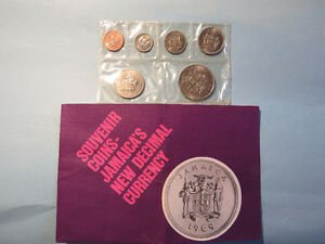 1969 Jamaica Coin Set $10