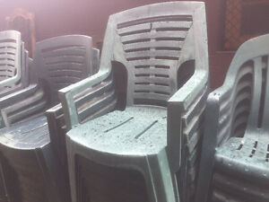 Patio Chairs - large quantity for sale