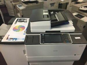 Ricoh MP C6502 Color Copiers Printers Finisher Production Copier