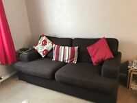 3 Seater sofa and 2 seater sofa (2 Seater is a double bed settee)