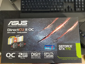 Asus DirectCU II OC Geforce GTX 770 2gb ddr5
