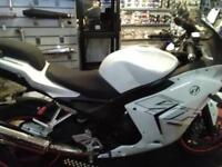Daelim VJF 250 ROADSPORT four stroke euro 3 pre reg new and not been on the road