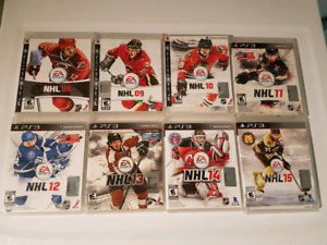 Jeux NHL Hockey 2008-2015