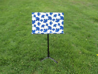 Maple Leafs Inspired Slipcover for Music Stand