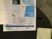 Justin Bieber ticket Glasgow SSE Hydro 27 October