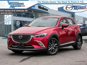 2016 MAZDA CX3 GT WITH LOW KM, NO ACCIDENTS, AND LOWERED PRICE!