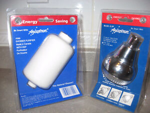 Energy saving Aquasmart Shower Purifer 360 + deluxe 3 way head