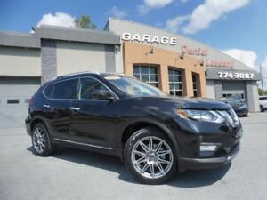 Nissan Rogue SL PLATINUM AWD, TOIT PANO, GPS, CUIR, CLEAN TITLE