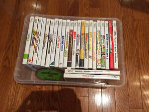 A Plethora of Wii Games for Sale: Pick and Choose!