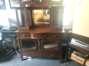 BARGAIN TODAY ONLY Antique Hutch