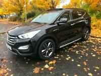 2013 Hyundai Santa FE 2.2 CRDi Premium SE 5dr Auto [7 Seats] ESTATE Diesel Autom