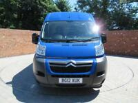 CITROEN RELAY L3 H2 LWB 130 BHP ELECTRIC PACK 3 SEATS