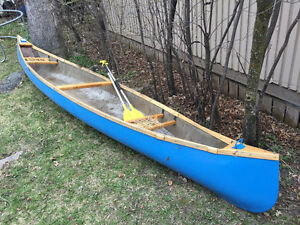 15.5 ft Fibreglass Canoe