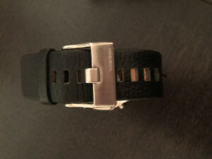 Diesel Watch With Black Leather Strap West Island Greater Montréal image 2