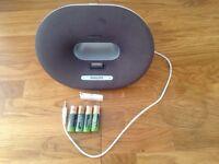 Philips speaker iPod iPhone docking station