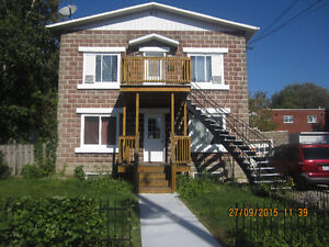 4 1/2 apartment on 2nd floor with one parking for rent