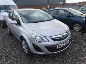 Vauxhall Corsa 1.2i 16v ( 85ps ) Exclusiv 5 DOOR - 2012 62-REG - FULL 12 MOT