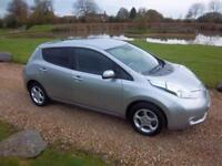 2015 / 65 Nissan Leaf E ( 80kw ) ( 24kWh ) Auto Acenta 6.6 KW Charger