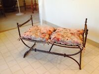 Accent Bench Seat