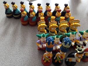 2002 Simpsons chess pieces Gatineau Ottawa / Gatineau Area image 3