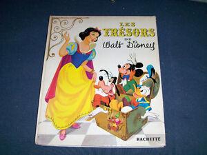 LES TRESORS DE WALT DISNEY-1968-PRINTED IN FRANCE-HACHETTE!