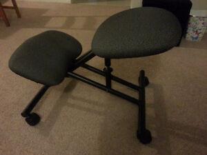 Knee chair - ergonomic