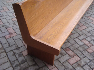 Church pew, Bench, Hall bench, Seating, Chair, London Ontario image 2