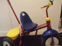 Radio Flyer Trycycle with Push Pole
