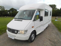 Rapido 779M - Rear Fixed Bed - Mercedes - 4 Berth