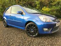 *12 MTHS WARRANTY*2008(08)FORD FIESTA 2.0 ST 3DR IN PEARL BLUE 67K*