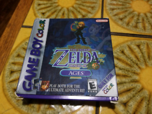 Legend of Zelda Oracle of Ages complete in box