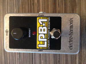 LPB1 BOOSTER BY EHX - MINT/NEW