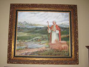 tableau du Pape Jean-Paul ll