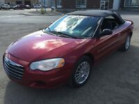 2004 Chrysler Sebring CONVERTIBLE GARANTIE 1 AN **NÉGOCIABLE**