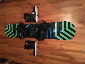 Snowboard (Boots and Bindings)