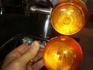 honda cb turn signals brand new pair
