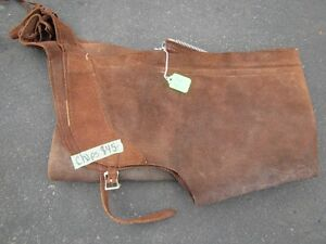 Used Suede Chaps