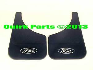 2007-2013 Ford Expedition Front OR Rear BLACK Mud Flap Splash Guards OEM NEW