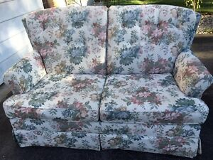 Love Seat/Single Pull Out Bed