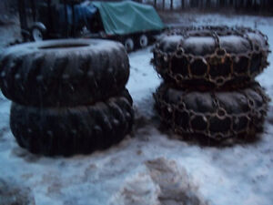 FORESTRY TIRES AND CHAINS