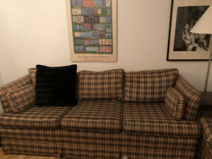 Couch/Sofa/Chesterfield - FREE to a loving home!